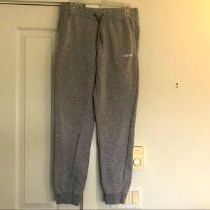ADIDAS men's grey joggers